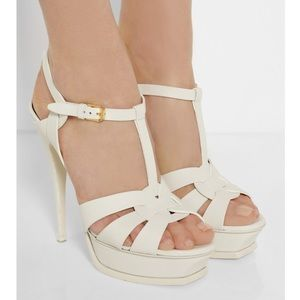 Yves Saint Laurent Paris Platform Tribute Sandal